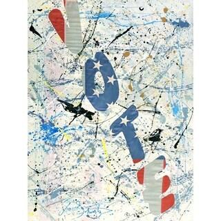 """""""Vote"""" by David SchwARTZ, Canvas Giclee Wall Art"""