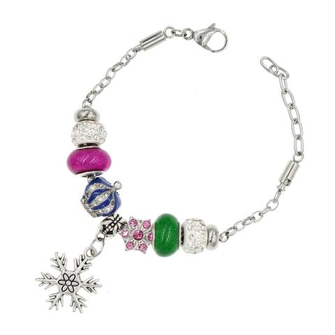 Handmade Simplistic Clover European-Style Charm Bracelet