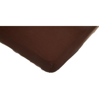 American Baby Company Chocolate Supreme Jersey Crib Sheet (Pack of 2)