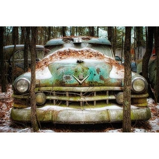 """Caddy at the end of the road"" by Glenn Martin, Canvas Giclee Wall Art Print"