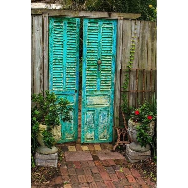 \ Enchanted Door\  by Glenn Martin Canvas Giclee Wall Art Print  sc 1 st  Overstock.com & Enchanted Door\