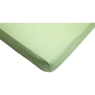 American Baby Company Apple Green Supreme Jersey Crib Sheet (Pack of 2)