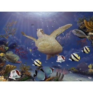"""""""Red Sea Gathering"""" by Jeremy Lee, Canvas Giclee Wall Art"""
