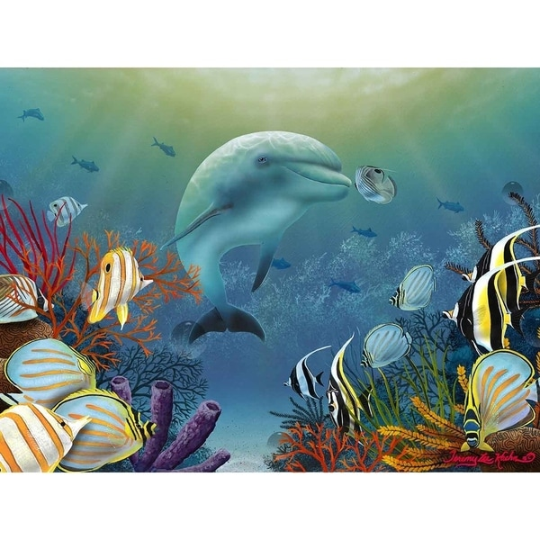 """""""Butterflies of the Sea"""" by Jeremy Lee, Canvas Giclee Wall Art"""