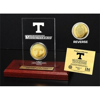 University of Tennessee  Gold Coin Etched Acrylic - Multi-color