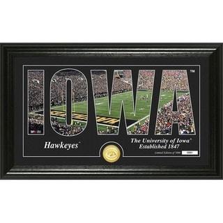 "University of Iowa ""Silhouette"" Bronze Coin Photo Mint - Multi-color"