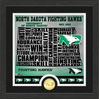 "University of North Dakota ""State"" Bronze Coin Photo Mint - Multi-color"