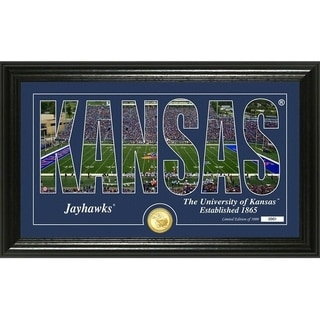 "University of Kansas ""Silhouette"" Bronze Coin Photo Mint - Multi-color"