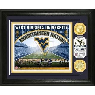 University of West Virginia Bronze Coin Photo Mint - Multi-color