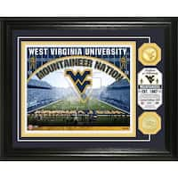 University of West Virginia Bronze Coin Photo Mint - Multi-color