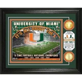 University of Miami Bronze Coin Photo Mint - Multi-color