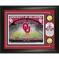 University of Oklahoma Bronze Coin Photo Mint - Multi-color