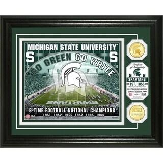 Michigan State University Bronze Coin Photo Mint - Multi-color