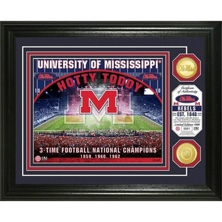University of Mississippi Bronze Coin Photo Mint - Multi-color