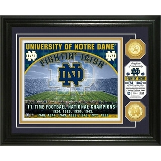 University of Notre Dame Bronze Coin Photo Mint - Multi-color