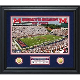 University of Mississippi Special Edition Gold Coin Photo Mint - Multi-color