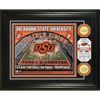 Oklahoma State University Bronze Coin Photo Mint - Multi-color