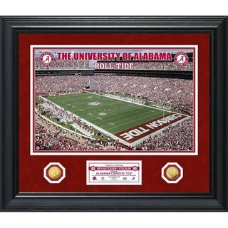 University of Alabama Special Edition Gold Coin Photo Mint - Multi-color