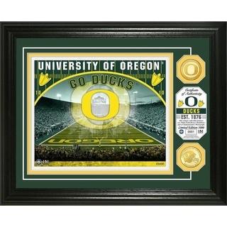 University of Oregon Bronze Coin Photo Mint - Multi-color