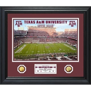 Texas A&M University Special Edition Gold Coin Photo Mint - Multi-color