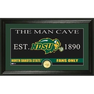 "North Dakota State University ""Man Cave"" Bronze Coin Photo Mint - Multi-color"