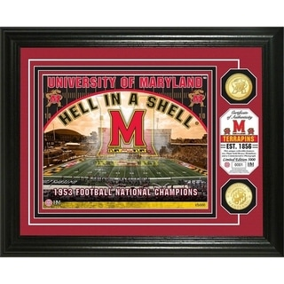 University of Maryland Bronze Coin Photo Mint - Multi-color