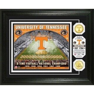University of Tennessee Bronze Coin Photo Mint - Multi-color