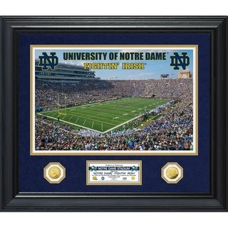 University of Notre Dame Special Edition Gold Coin Photo Mint - Multi-color