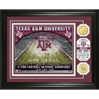 Texas A&M University Bronze Coin Photo Mint - Multi-color