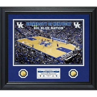 University of Kentucky Basketball Special Edition Gold Coin Photo Mint - Multi-color