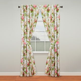 Waverly Emma's Garden Lined Curtain Panel Pair