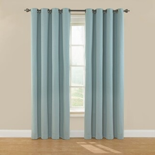 Eclipse Nadya Solid Blackout Window Curtain Panel (3 options available)