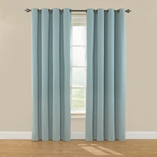Eclipse Nadya Solid Blackout Window Curtain Panel - 52x108