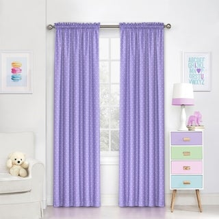 Eclipse Kids Polka Dots Blackout Window Curtain Panel (4 options available)