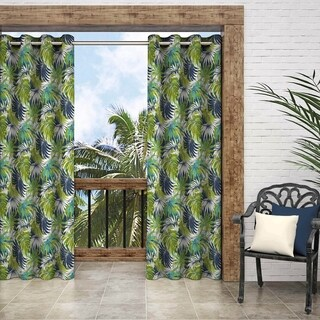 Parasol Key Biscayne Grommet Top Curtain Panel