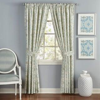 Waverly Astrid Window Drapery Pair - 100x84