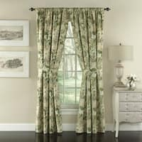 Waverly Garden Glory Floral Drapery Pair - 100x84