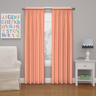 Eclipse Kids Microfiber Blackout Window Curtain Panel