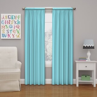 Eclipse Kids Microfiber Blackout Window Curtain Panel