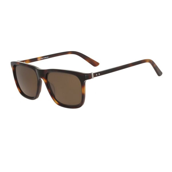 019268b53e Shop Calvin Klein CK8502S-218 Men s Tortoise Frame Brown Lens Sunglasses -  Free Shipping Today - Overstock - 17976027