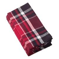 Jarret Collection Classic Plaid Design Cotton Napkin Set