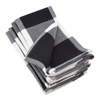 Buffalo Plaid Cotton Napkin Set (Set of 4)