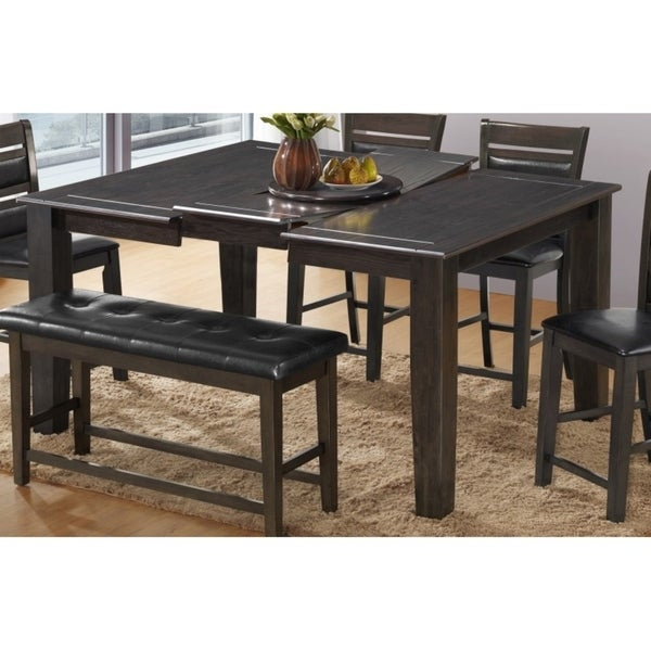 Quality Kitchen Tables: Shop Best Quality Furniture Light Espresso Wood Dining
