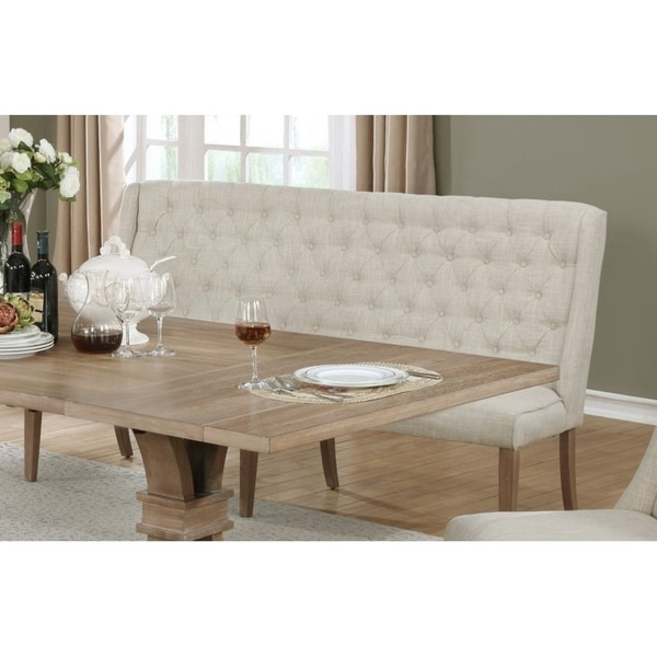 Best Quality Dining Room Furniture: Best Quality Furniture Beige Linen Upholstered Dining