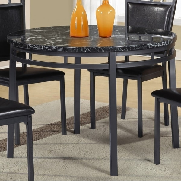 Shop Best Quality Furniture Round Faux Marble Table Top