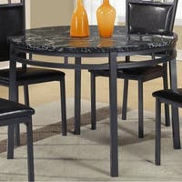 Best Quality Furniture Round Faux Marble Table Top Dining Table