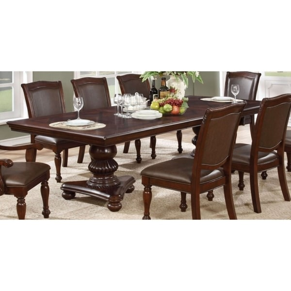 Quality Kitchen Tables: Shop Best Quality Furniture Cherry Dining Table With 24