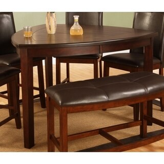 Best Quality Furniture Dark Cherry Counter Height Dining Table