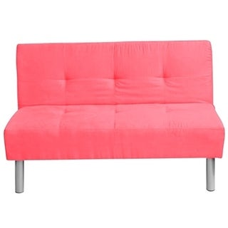 Candy Pink Coral Mini Futon