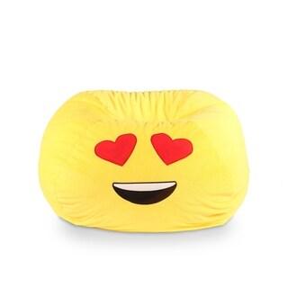 GoMoji Emoji Bean Bag Heart Eyes